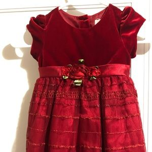 The Children's Place girls Christmas dress 3 t
